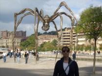 A gêmea da aranha do MAM, em Bilbao