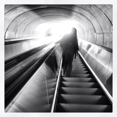 Dupont Circle Metro Station February 2013