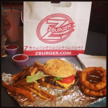 Onion Rings and French Fries...Get both!