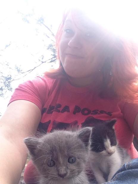 Kitten selfie!