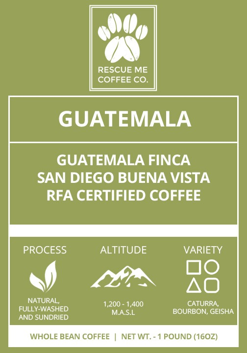 Guatemalan Coffee - Rescue Me Coffee