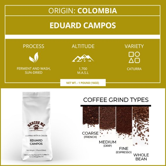 Colombia Single Origin Coffee