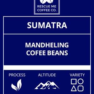 Sumatra Single Origin Coffee