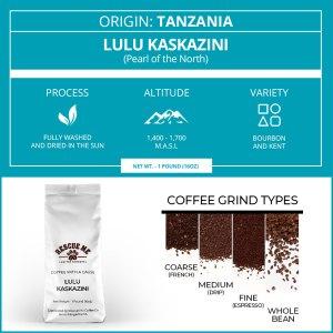 Tanzania Single Origin Rescue Me Coffee