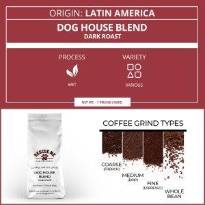 Dog House Blend Dark Roast Coffee