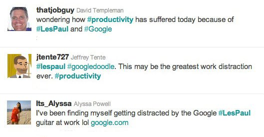 Tweet about Productivity