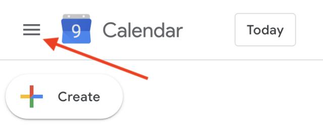 How to hide Google Calendar's sidebar