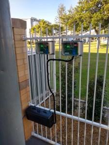 SMoke Observation Gadget installed outdoor.