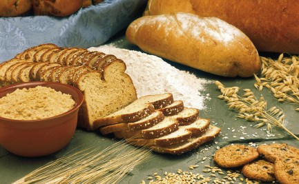 Breads, cereals, oats