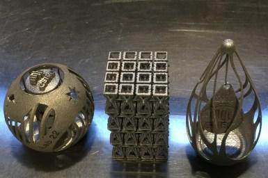 3D printed metallic parts