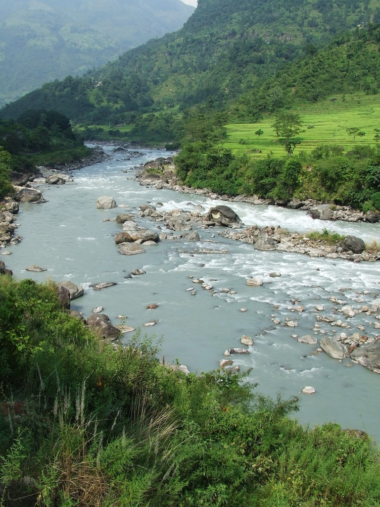 River in Annapurna, Nepal