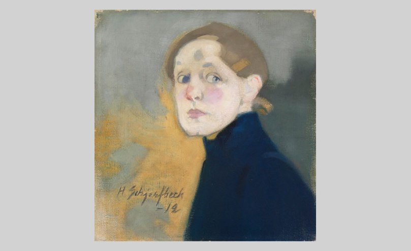 Helene Schjerfbeck, ­ Self-Portrait, 1912, oil on canvas, 43.5cm x 42cm Finnish National Gallery / Ateneum Art Museum Photo: Finnish National Gallery / Yehia Eweis