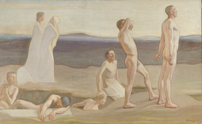 Featured image: Magnus Enckell, Resurrection, study for the left side of the Tampere Cathedral altarpiece, 1907, oil on canvas, 250cm x 400cm, Antell Collections, Finnish National Gallery / Ateneum Art Museum Photo: Finnish National Gallery / Hannu Pakarinen