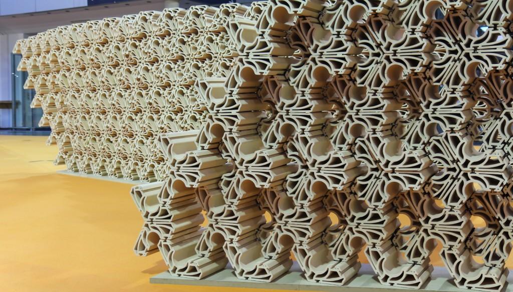 Extruded Tessellation: Ceramic Tectonics