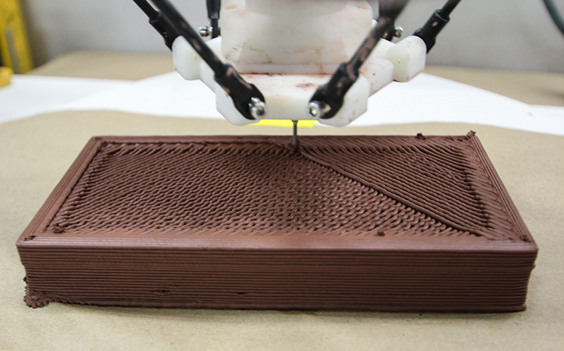Brick Geometries: 5-Axis Additive Manufacturing for Architecture