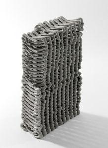 Spatial Print: Clay 3D Printing of Spatial Lattices