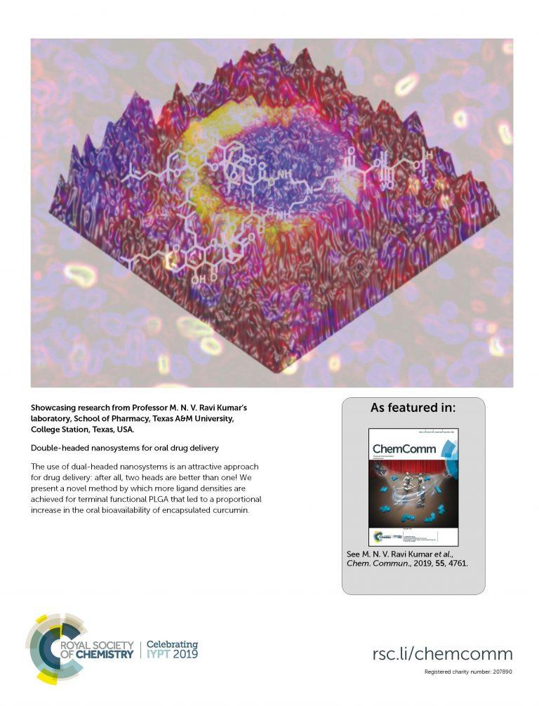 Royal Society of CHemistry ChemComm cover
