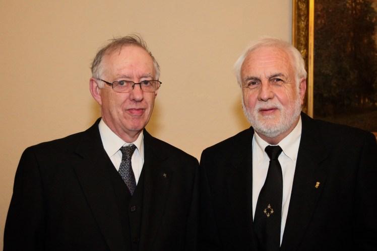 David Sharpe (left) and Roger Burt (right)