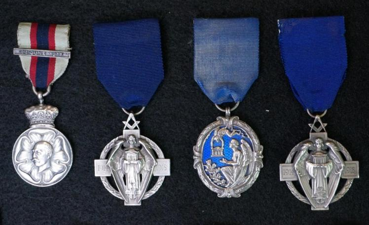 Jewels of special Masonic interest