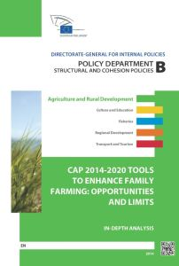 CAP 2014-2020 Tools to Enhance Family Farming: Opportunities and Limits