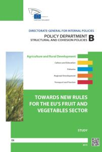 Towards New Rules for the EU's Fruit and Vegetables Sector - An EU Northern Member States Perspective