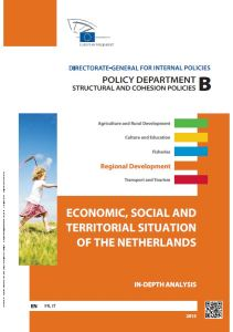 Economic, Social and Territorial Situation of the Netherlands
