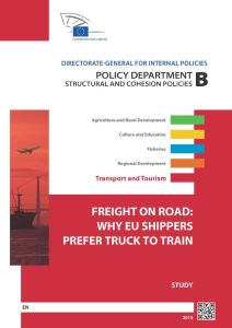 Freight on Road: Why EU Shippers Prefer Truck to Train