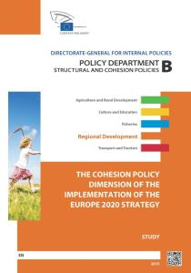 The Cohesion Policy Dimension of the Implementation of the Europe 2020 Strategy