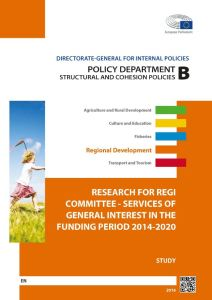 Services of General Interest in the Funding Period 2014-2020