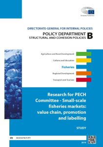Small-Scale Fisheries Markets: Value Chain, Promotion and Labelling