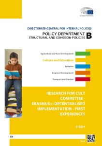 Erasmus+: Decentralised Implementation - First Experiences