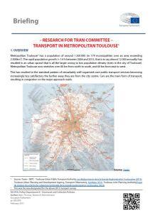 Transport in Metropolitan Toulouse