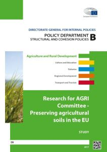 Preserving agricultural soils in the EU