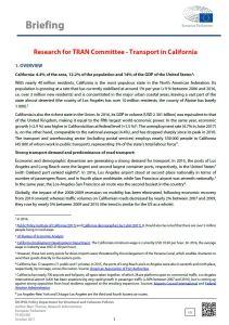 Transport in California