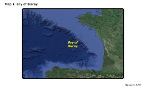 Map 1. Bay of Biscay