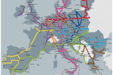 Map 5: TEN-T Core Network Corridors