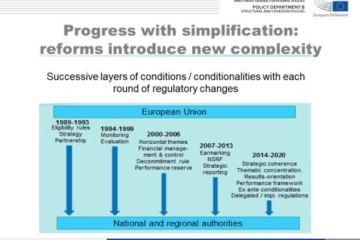 Is simplification simply a fiction? Rules, guidance and audit processes