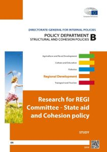State aid and Cohesion Policy