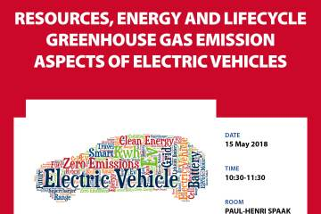 TRAN Study presentation : Resources, energy and lifecycle greenhouse gas emission aspects of electric vehicles