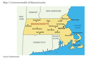 Map 1: Commonwealth of Massachusetts