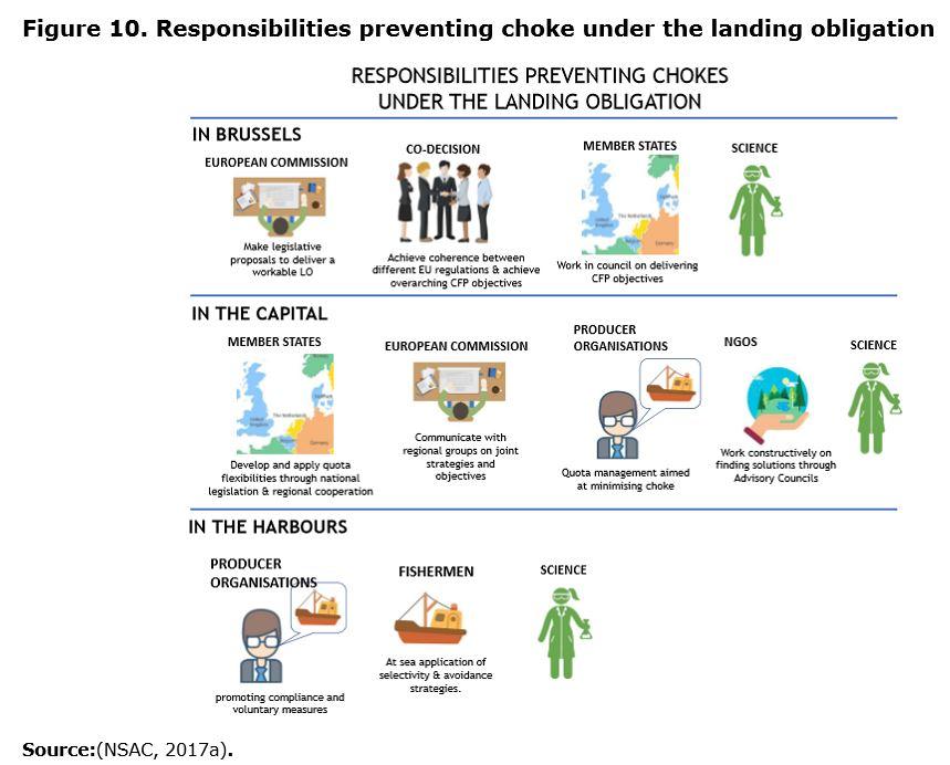 Figure 10. Responsibilities preventing choke under the landing obligation
