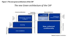 Figure1: The new green architecture of the CAP