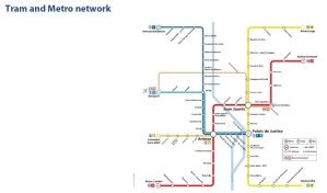 Tram and Metro network