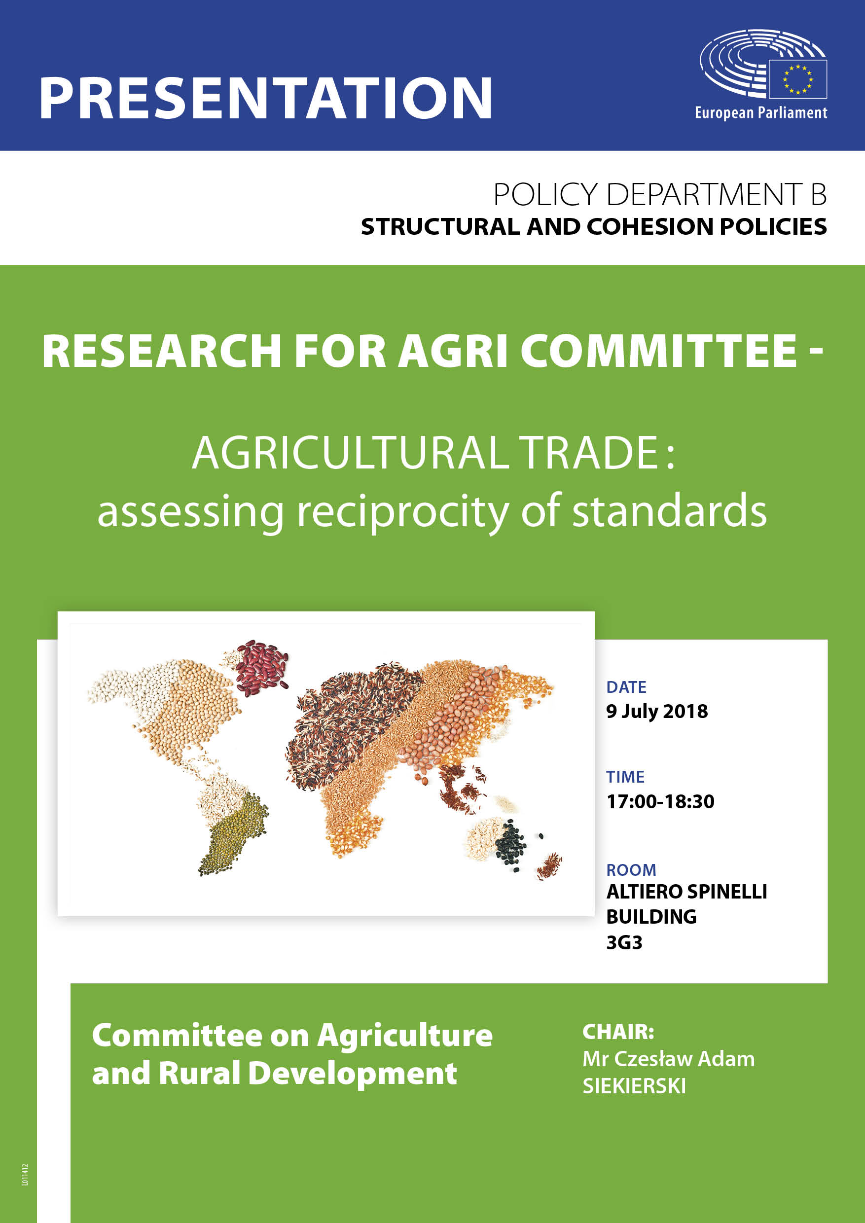 agri study presentation agricultural trade assessing reciprocity