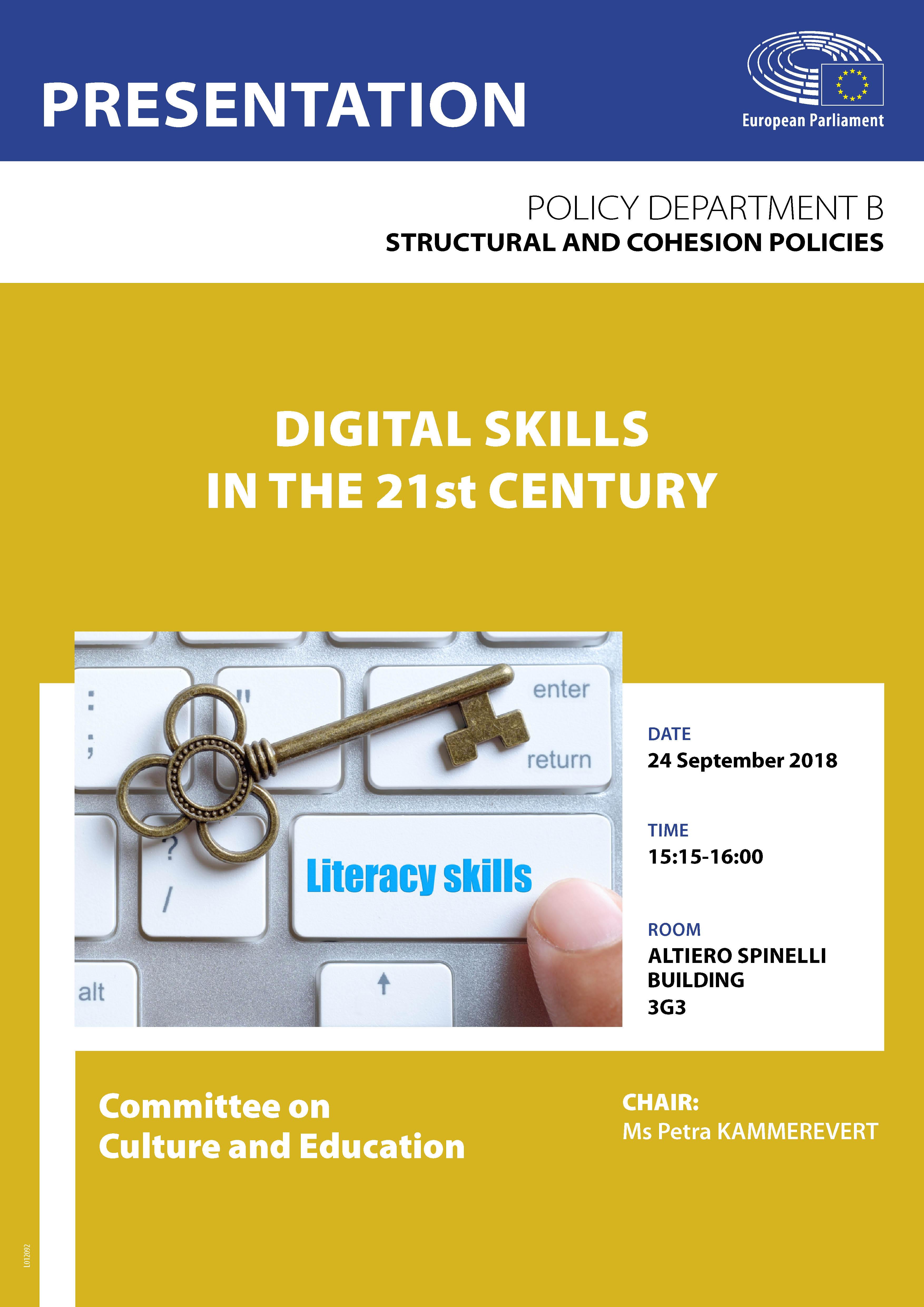 Digital skills in the 21st century