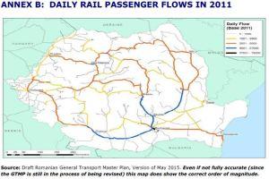 ANNEX B: DAILY RAIL PASSENGER FLOWS IN 2011