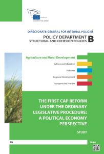 The First CAP Reform under the Ordinary Legislative Procedure: A Political Economy Perspective
