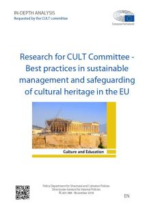 Best practices in sustainable management and safeguarding of cultural heritage in the EU