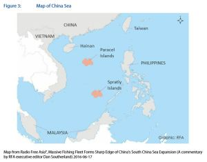 Figure 3: Map of China Sea