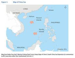 Figure 3: Map of China Sea